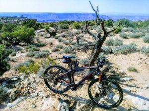 Bike in Moab