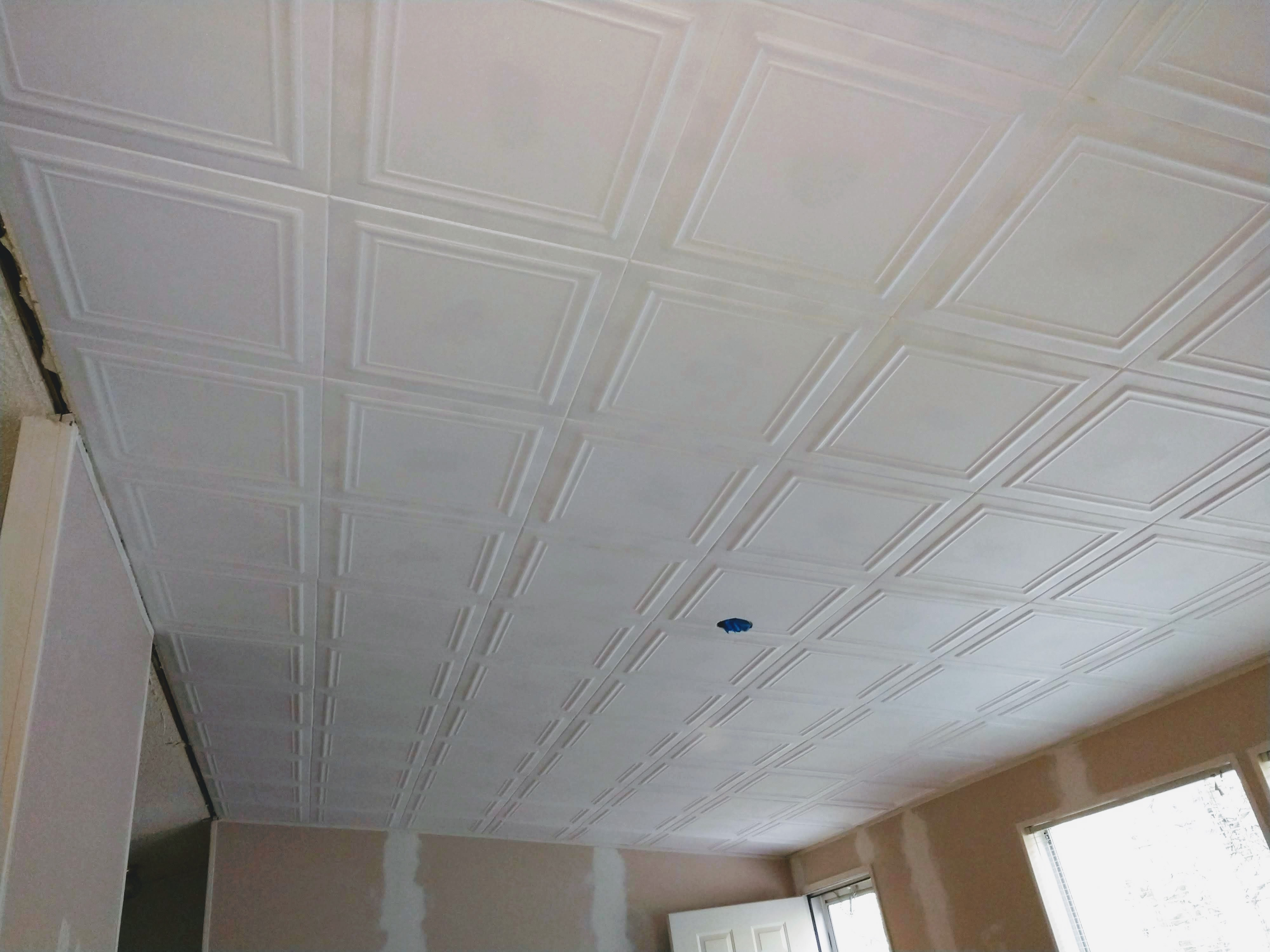 Foam Ceiling Tiles To The Rescue